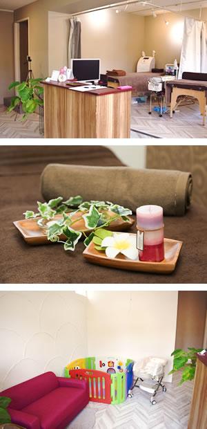 生駒市 BEAUth美容整体院の内装写真